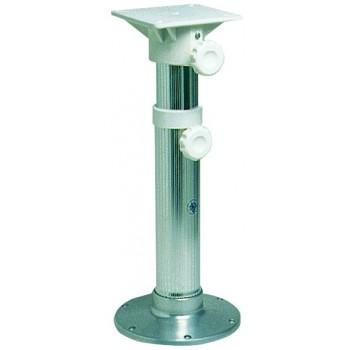 Supporto sedili girevoli in alluminio anodizzato con base superiore in nylon rinforzato