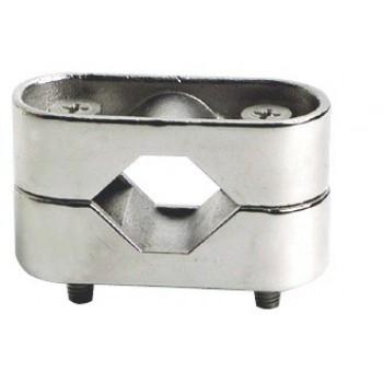 Morsetto in acciaio inox AISI 316 lucidato a specchio