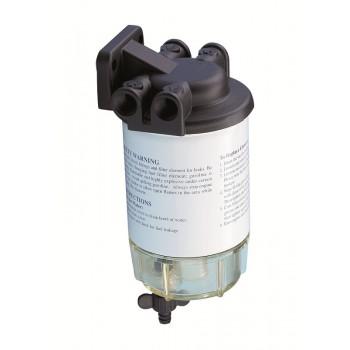 Filtro separatore acqua/carburante con calotta di ispezione
