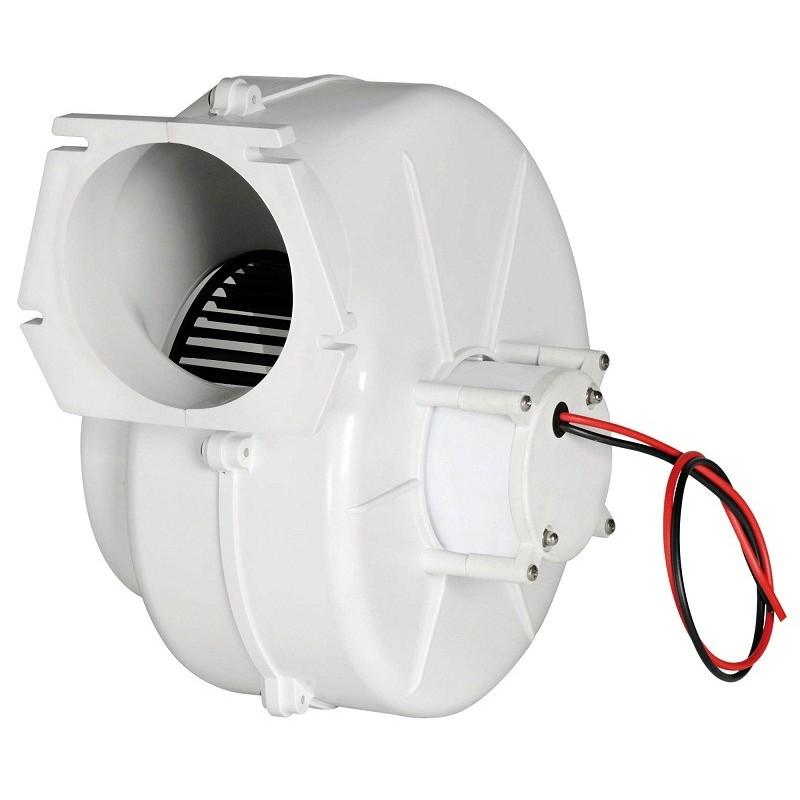Aspiratore centrifugo 24V per fissaggio a parete