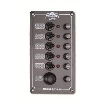 Pannello elettrico 5+1