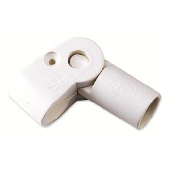 Snodo esterno in plastica per tendalini da 180°