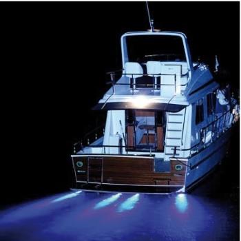 Luce subacquea LED per plancette / specchio di poppa / carena