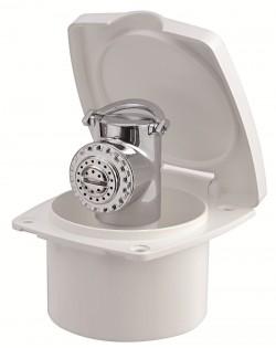 Box doccia NEW EDGE con doccia Mizar - Sportello BIANCO