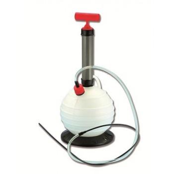 Pompa di travaso olio - acqua con serbatoio