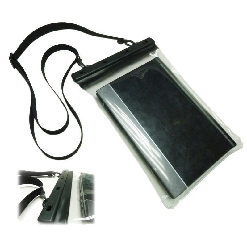 Contenitore stagno per tablet e iPad con uscita audio