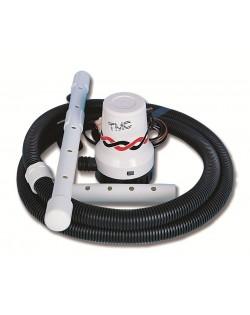 Pompa elettrica aeratrice TMC per vasche pesca e acquari