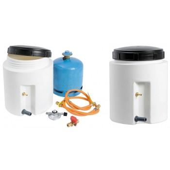 Contenitore a tenuta stagna per bombola gas