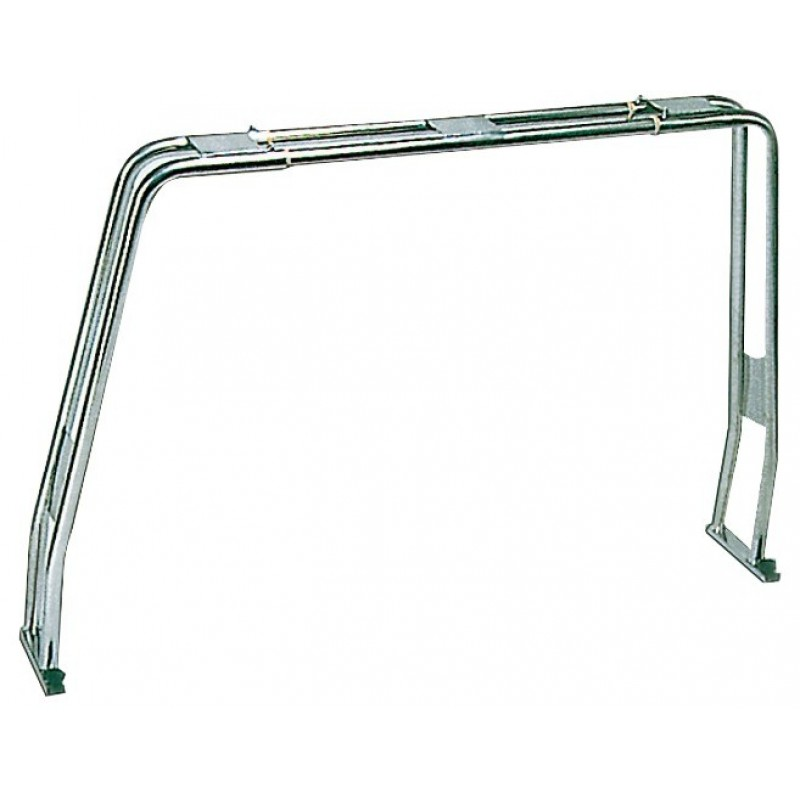 Roll-bar abbattibile a compasso per scafo