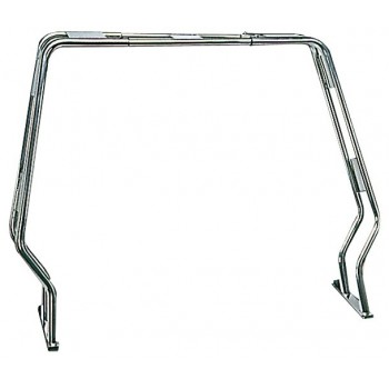 Roll-bar abbattibile per gommoni