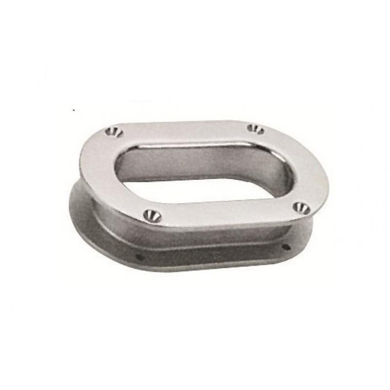 Cubbia ovale inox 171x76 mm mm