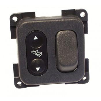Interruttore gradino con deviatore luce 12/24V.