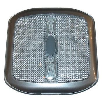 Plafoniera quadrata a LED con interruttore