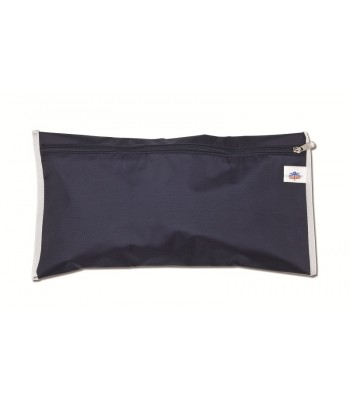 Waterproof bag with fastening buttons