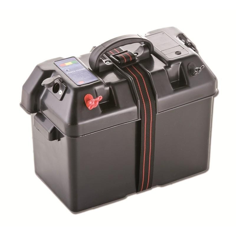 Cassetta portabatteria 100A modello cablato con maniglia
