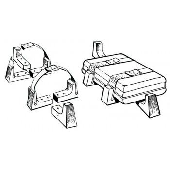 Kit per il fissaggio delle zattere in contenitore rigido