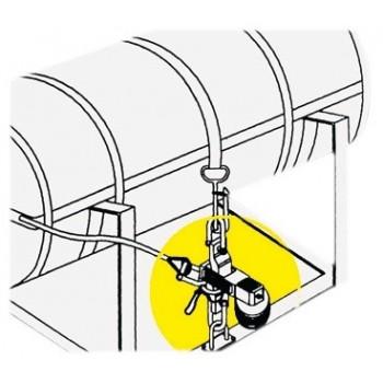 Gancio idrostatico per zattere di salvataggio