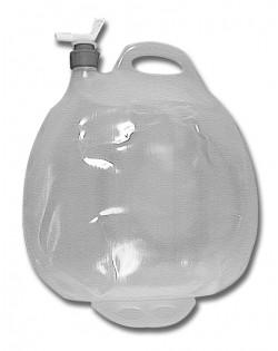 Contenitore per acqua pieghevole con rubinetto
