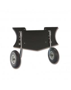 Coppia ruote di alaggio ribaltabili mod. Zodiac Futura