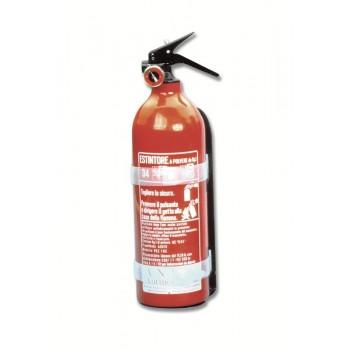 Estintore antincendio kg. 1 «Omologato MED»