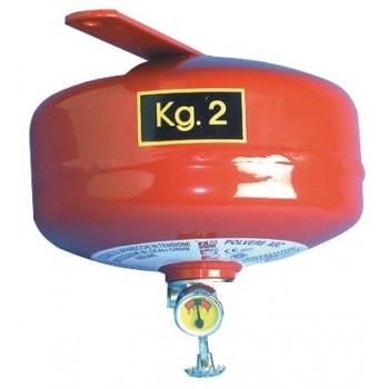 Estintore automatico a pioggia di polvere 2kg
