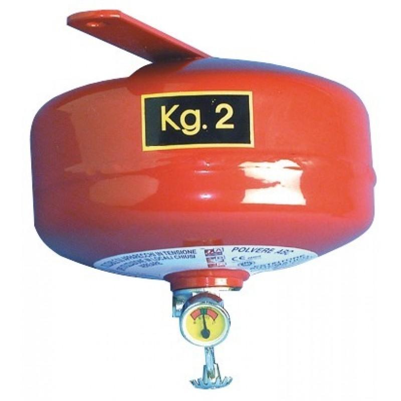 Estintore automatico a pioggia di polvere 2 kg