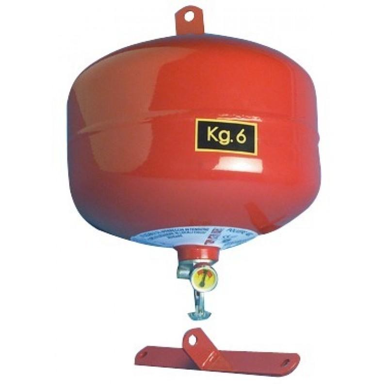 Estintore automatico a pioggia di polvere 6kg