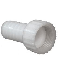 Portagomma in nylon bianco