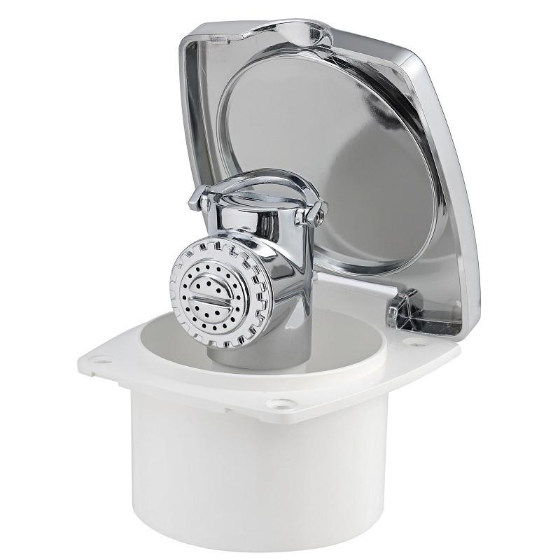 Box doccia NEW EDGE con doccia Mizar - Sportello CROMATO