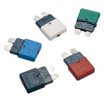 5 Fusibili lamellari riarmabili 12/24 V