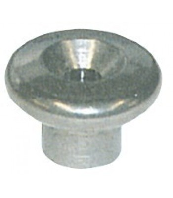 AISI 316 stainless steel lacing button for tarpaulin