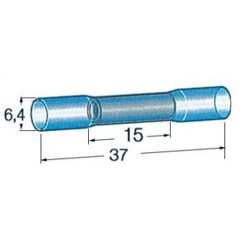 10 Tubetto preisolato termoretraibile 2 cavi per giunzione stagna