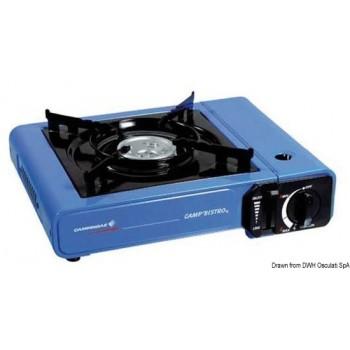 Fornello portatile con bomboletta incorporata