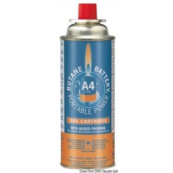 4 Cartucce di ricambio gas