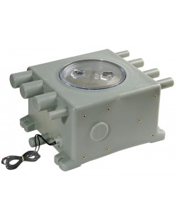 Pozzetto di raccolta acque grigie WHALE con sensore elettronico incorporato - 8.1 lt