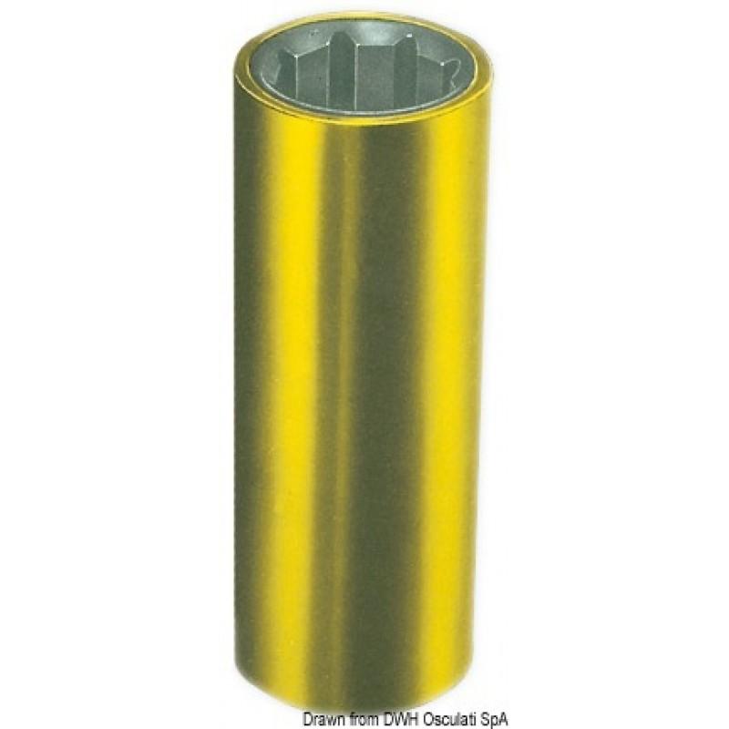 Boccola per linee d'asse con armatura esterna in ottone.