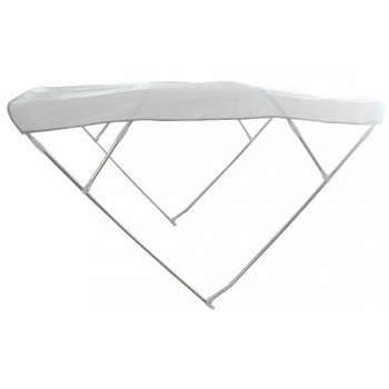 Capottina parasole BIMINI DEPTH 4 archi BIANCO
