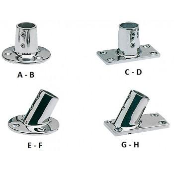 Base e raccordo acciaio inox per pulpito