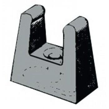 Clip per fissare lo stik di prolunga sulla barra
