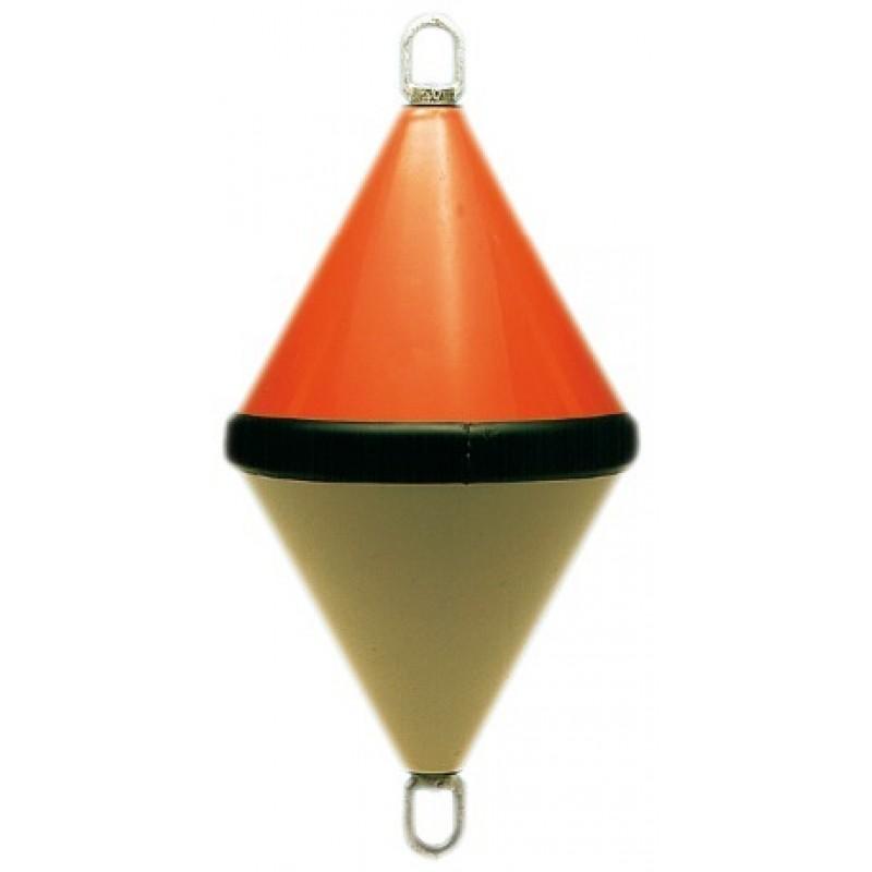 Gavitello biconico in ABS rinforzato bicolore