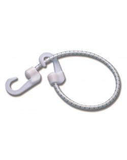 Corde elastiche con ganci in nylon - 4pz