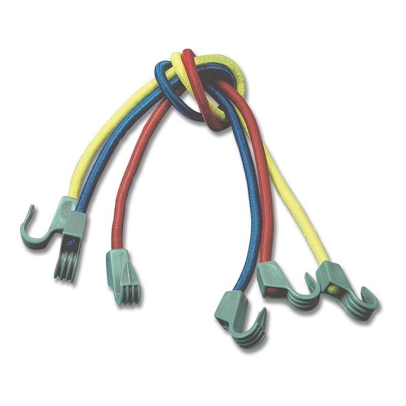 Corde elastiche milleusi con ganci in nylon