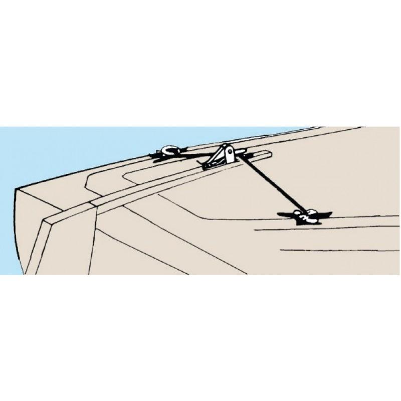 Dispositivo PFEIFFER per bloccaggio barra timone