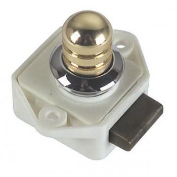 Mini scrocchetto a pulsante